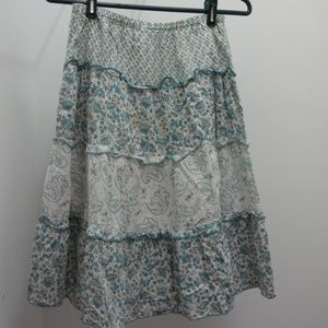 3/$35 Tiered Cotton Skirt
